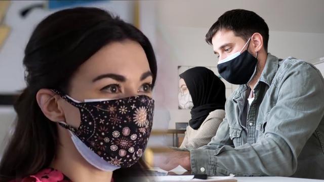 İş yerinde maske uyarısı: Baret gibi koruyucu donanım