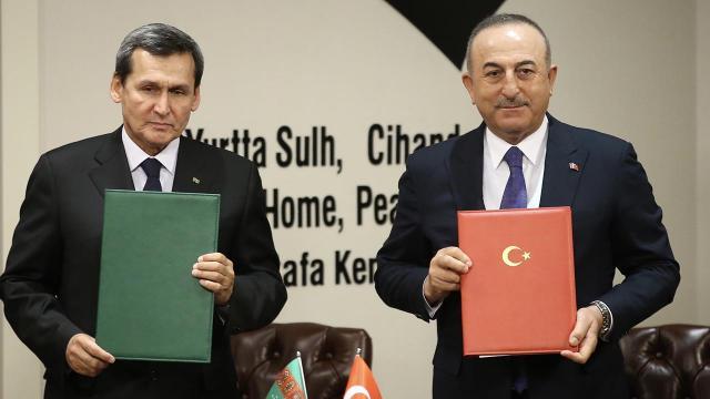 Bakan Çavuşoğlu: Türkmen gazı için üzerimize düşeni yapmaya hazırız