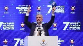 AK Parti İstanbul İl Başkanı Osman Nuri Kabaktepe oldu