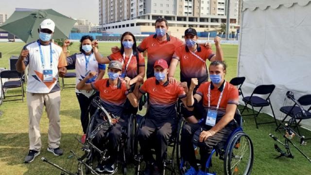 Paralimpik okçulardan 4 madalya