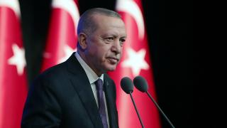 Cumhurbaşkanı Erdoğan'dan şehit askerler için taziye mesajı