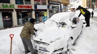 Doğu Karadeniz için kar ve sağanak uyarısı