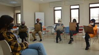Tatvan Gençlik Merkezi'nin faaliyetleri koronavirüs tedbirleriyle sürüyor