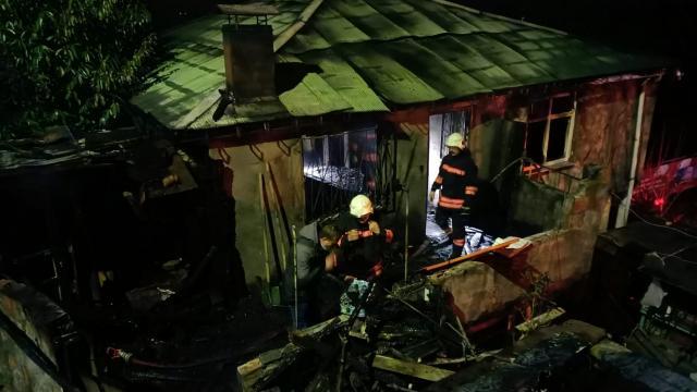 Trabzonda yaşlı çift yangında hayatını kaybetti