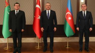 Türkiye-Azerbaycan-Türkmenistan'dan ortak bildiri