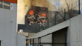 Ankara'da depo yangını