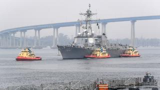 ABD'nin savaş gemisi COVID-19 karantinasında