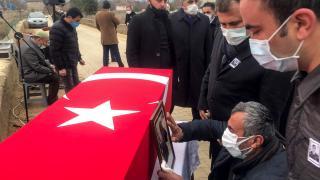 Diyarbakır'da trafik kazasında hayatını kaybeden asker memleketi Kastamonu'da defnedildi