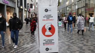 Belçika'da koronavirüs tedbirleri gevşetilmedi