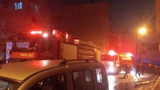 Bursa'da kullanılmayan 2 evde yangın çıktı