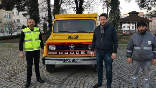 Pınarhisar'da çöp taksi hizmete girdi