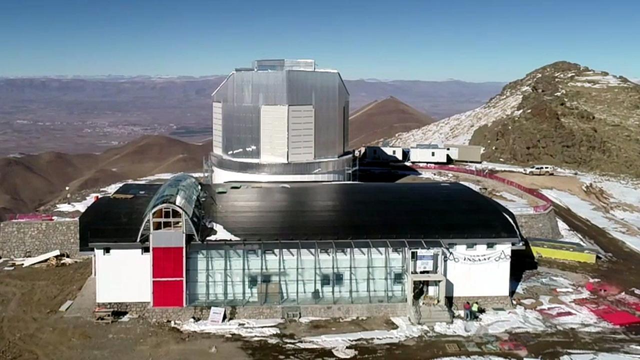 DAG teleskobu Erzurum'a ulaştı