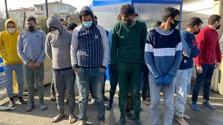 Silivri'de 18 düzensiz göçmen yakalandı