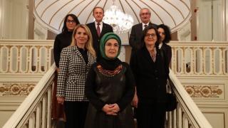 Emine Erdoğan TEMA Vakfı heyetiyle bir araya geldi