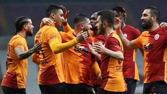 Mustafa Muhammed attı Galatasaray kazandı