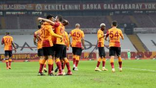 Galatasaray yenilmezlik serisini 8 maça çıkardı