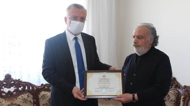 Gara şehidinin diploması ailesine verildi