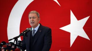 """Milli Savunma Bakanı Akar'dan AB'ye """"Gara"""" tepkisi: Artık ikiyüzlülüğü bırakmalı"""
