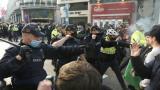 İrlanda'da kısıtlama karşıtı protestoda arbede: 23 gözaltı