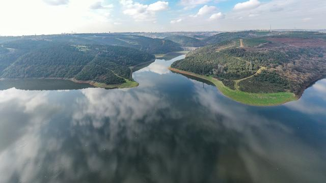 İstanbulun barajlarındaki doluluk oranı yüzde 81,11