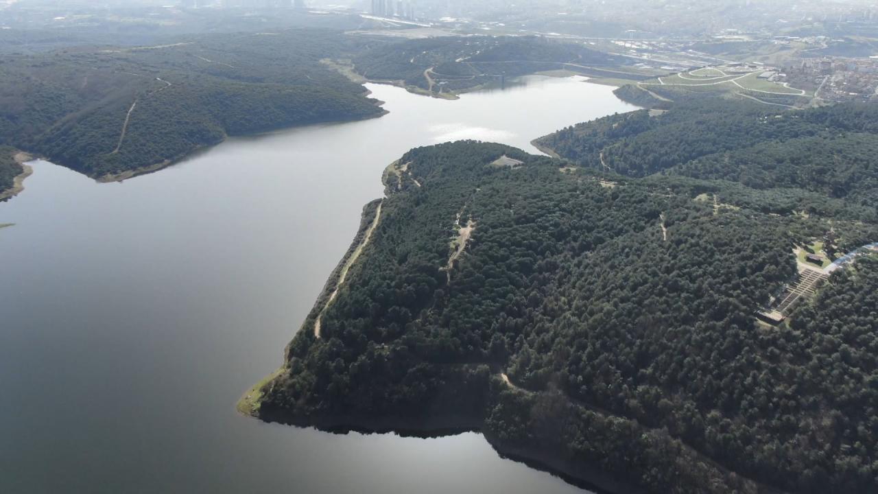 İstanbul barajlarında doluluk yüzde 55'e çıktı
