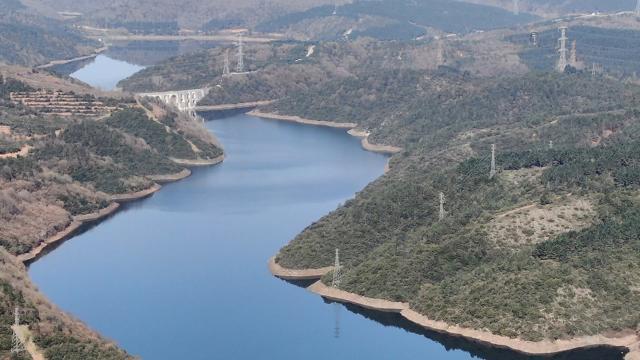 İstanbuldaki barajlarda su miktarı 58,23e çıktı