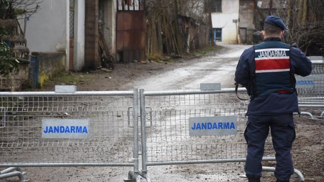 Kastamonuda bir köy ve 2 apartman karantinaya alındı