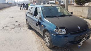 İnegöl'de otomobil ile motosiklet çarpıştı: 2 yaralı