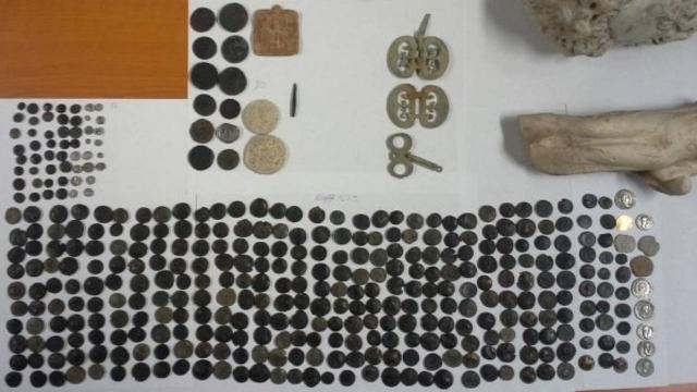 Anadoludan kaçırılan 412 tarihi eser Türkiyede