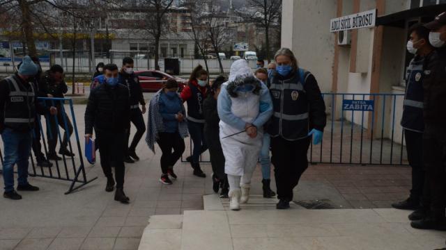 Orduda fuhuş operasyonunda 12 kişi yakalandı