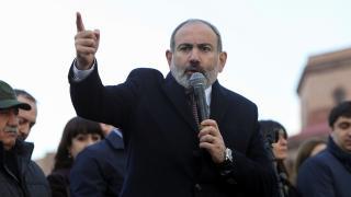 Ermenistan Cumhurbaşkanı Sarkisyan'dan Paşinyan'a ret