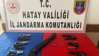Hatay'da kaçak silah imalathanesine operasyon: 2 gözaltı