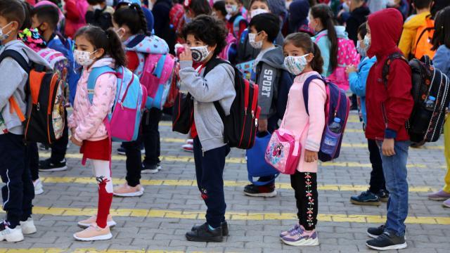 Kastamonuda bir okulda yüz yüze eğitime ara verildi