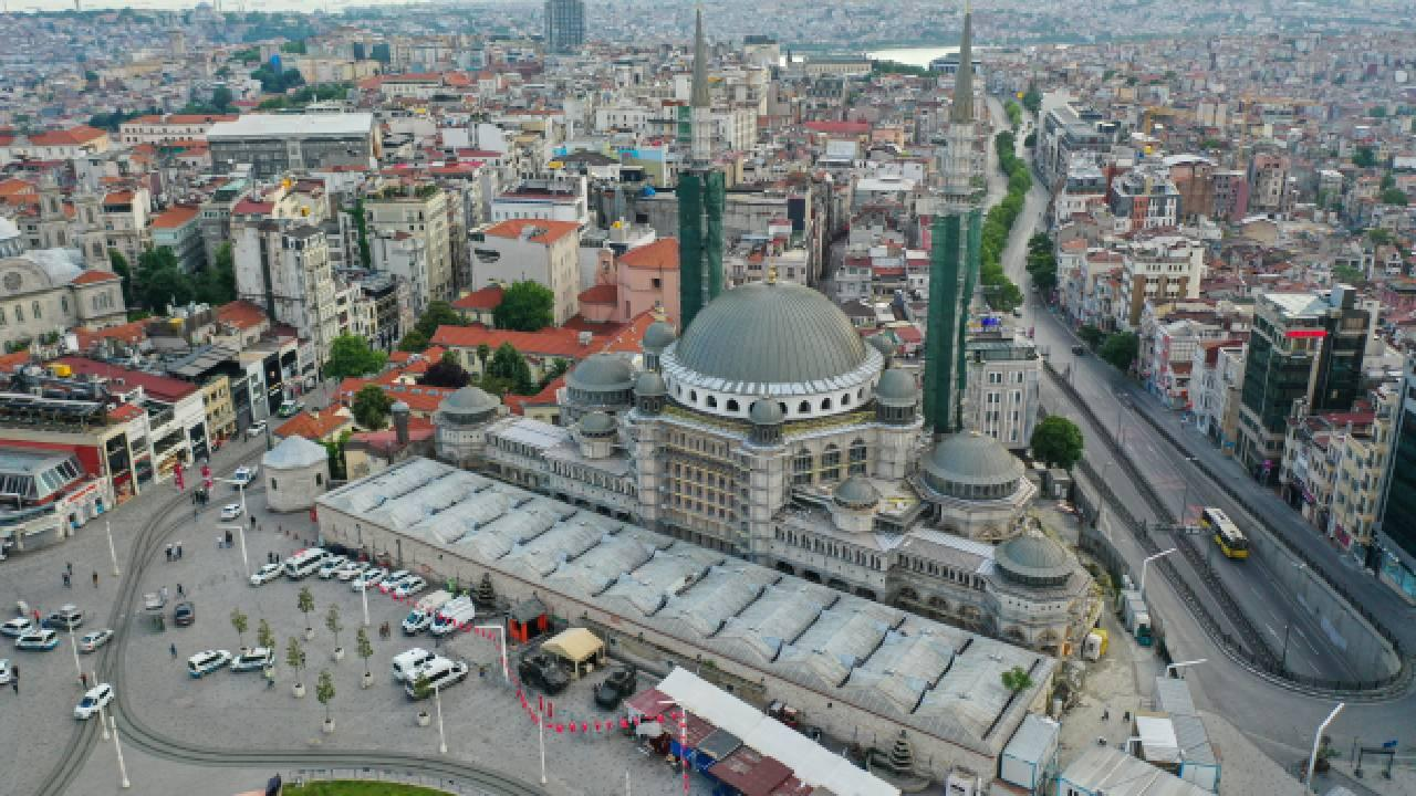 Taksim Camii ramazan ayına yetişecek