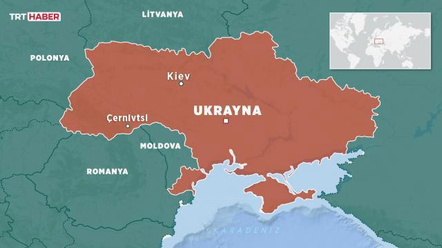 Ukraynada hastanede patlama: 1 ölü