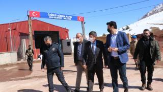 Üzümlü Sınır kapısı tekrar açıldı