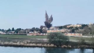 İngiltere'de İkinci Dünya Savaşı'ndan kalma bomba imha edildi