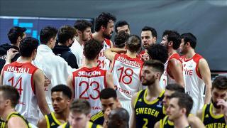 A Milli Erkek Basketbol Takımı, dünya sıralamasındaki yerini korudu