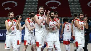 A Milli Erkek Basketbol Takımı'nın maç programı belli oldu