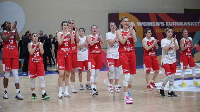 A Milli Kadın Basketbol Takımının rakipleri belli oldu