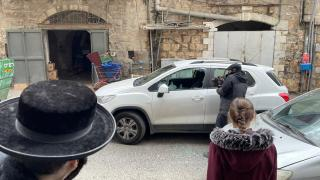 Ultra-Ortodoks Yahudiler Anadolu Ajansı ekibine saldırdı