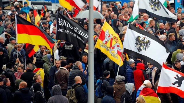 Almanyada aşırı sağ yanlılarında artış