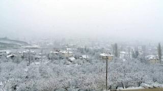 Antalya'da kar yağışı etkili oldu