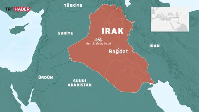 Irakta Ayn-el Esed üssüne roketli saldırı