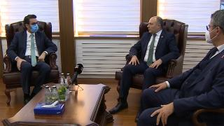 Azerbaycan Kültür Bakanı Kerimov'dan TRT'ye ziyaret
