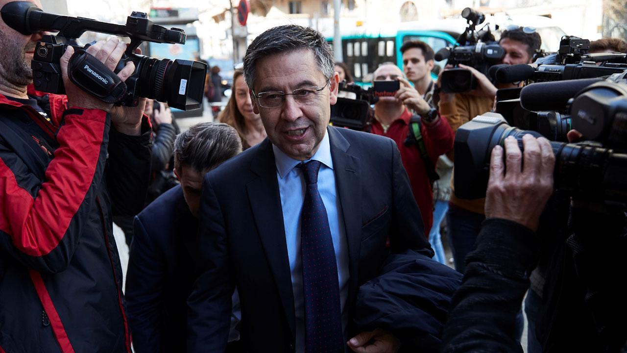 Barcelona'da eski başkan Bartomeu gözaltına alındı