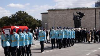 TBMM'de Eski Devlet Bakanı Kemal Akkaya için cenaze töreni