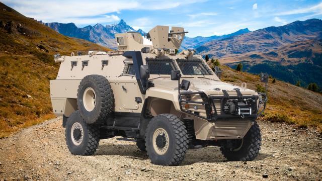 Türk zırhlısı Cobra II, en tehlikeli görevler için yeniden geliştirildi