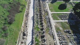 Efes Antik Kenti, pandemi sürecinde de güvenli turizmin adresi oldu