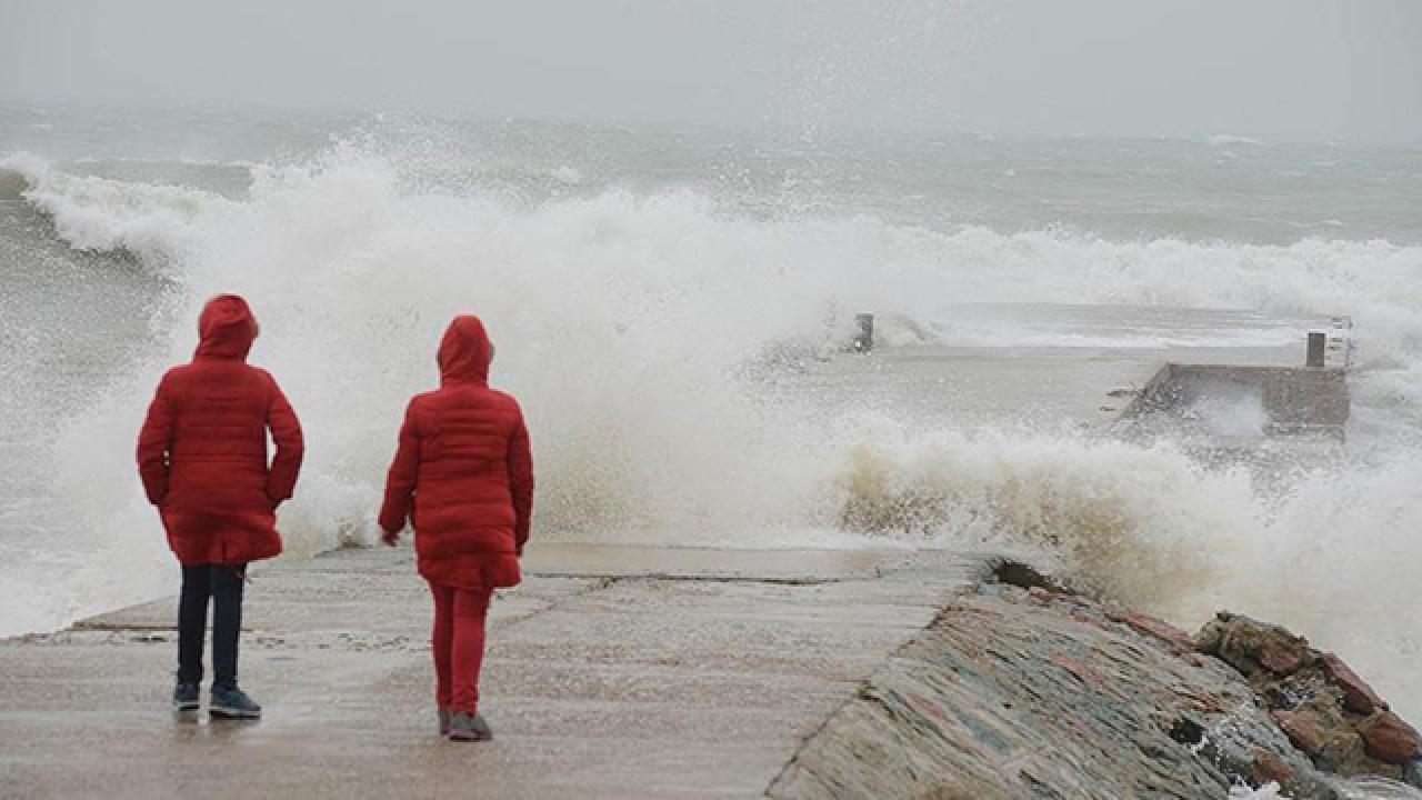 Doğu Akdeniz'e 'kuvvetli yağış' uyarısı